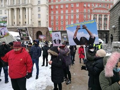 Протест на ресторантьорите пред МС на 27 януари, искат да отворят на 1 февруари  СНИМКИ: Велислав Николов