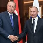 Реджеп Тайип Ердоган и Владимир Путин Снимка: Ройтерс