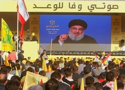 Лидерът на ливанското движение Хизбула Хасан Насралла СНИМКА: Ройтерс
