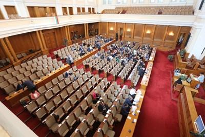Депутатите гласуваха на първо четене промени в Закона за съдебната власт. СНИМКА: НИКОЛАЙ ЛИТОВ