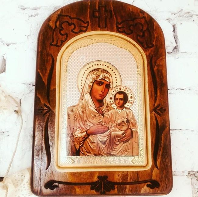 Иконата, дар от сестрата на Нойзи, ще пази младото семейство