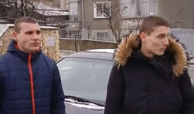 Делчо Михов и Цветан Ралчев от Оборище  КАДЪР: НОВА ТВ