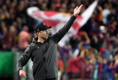 """Треньорът на """"Ливърпул"""" Юрген Клоп не е загубил надежда за титлата в английската Висша лига, която ще е първа за тима му. СНИМКА: РОЙТЕРС"""