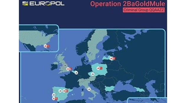 Българи арестувани при мащабна операция на Европол срещу киберпрестъпността