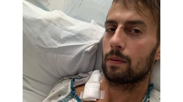 Мъжът, разхождал кучетата на Лейди Гага, проговори за кражбата им. Райън все още е в болница, след като беше прострелян