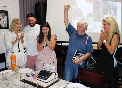 Владо Даверов празнува 70-годишния си юбилей с част от голямото си семейство