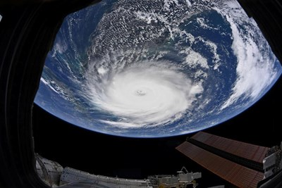Земята, видяна от Международната космическа станция СНИМКА: РОЙТЕРС