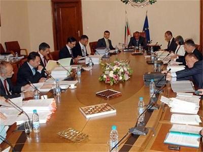 """В Съвета за развитие влизат почти всички министри и се води от премиера Бойко Борисов. СНИМКИ: """"24 ЧАСА"""""""
