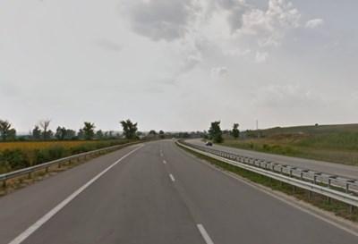 Пътят Русе - Бяла СНИМКА: Google Street View