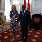 Заместник министър-председателят и министър на външните работи Екатерина Захариева се срещна с президента на Ангола Жоао Мануел Гонсалвеш Лоуренсу