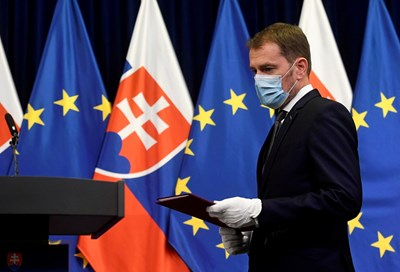 Премиерът на Словакия Игор Матович Снимка: Ройтерс
