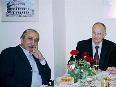 Кеворк Кеворкян вечеря с главния прокурор Никола Филчев в далечната 2003 г.  СНИМКА: АЛЕКСЕНИЯ ДИМИТРОВА