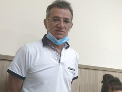 Синът на жертвата Васко в съда. Снимки: Авторът