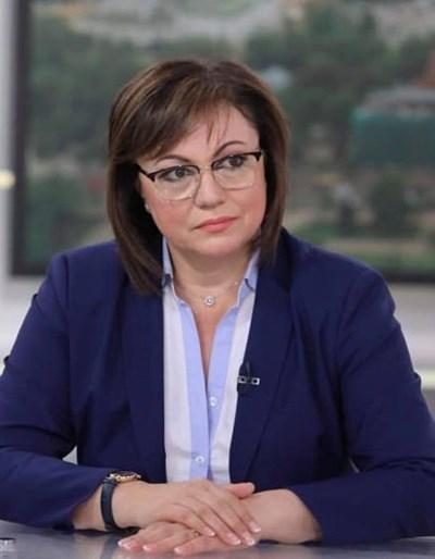 Нинова: Актуализацията е признание за провал и празен чек за оцеляване на Борисов