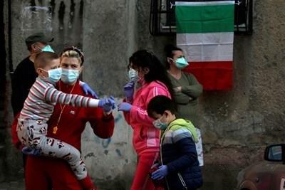 Албания е регистрирала рекорден брй новозаразени с коронавируса за последните 24 часа. СНИМКА: Ройтерс
