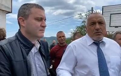 Владислав Горанов и Бойко Борисов КАДЪР: Фейсбук