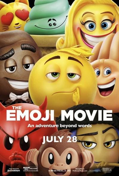 Tова е постерът на филма за емоджитата.