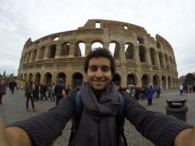 Рафи Бохосян преди седмица бе на ваканция в Рим. СНИМКА: ФЕЙСБУК