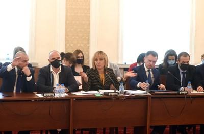 Комисията на Мая Манолова е събрала близо 100 сигнала и те ще бъдат предоставени на прокуратурата и други контролни органи. СНИМКА: СНИМКА: ВЕЛИСЛАВ НИКОЛОВ