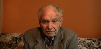 94-годишният Иван Григоров от Бургас Кадър: YouTube/Български Национален Съюз