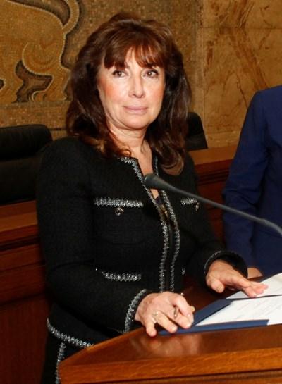 Вероника Имова - член на Висшия съдебен съвет и бивш съдия в Наказателната колегия на Върховния касационен съд