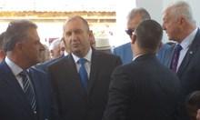 Президентът Румен Радев е в Труд за 150 години на църква