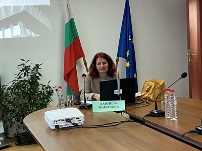 Даниела Манолова на конкурса в СЕМ