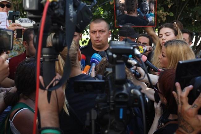 Зам.-шефът на охранителна полиция Тони Тодоров СНИМКА: Николай Литов