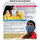 Маските действат като ваксина (инфографика)