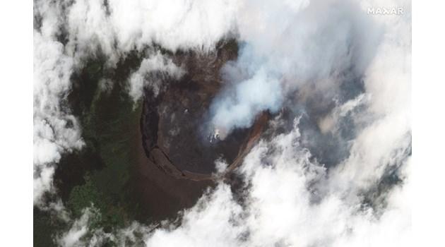 Изригване на вулкана Нириагонго в източната част на Демократична Република Конго