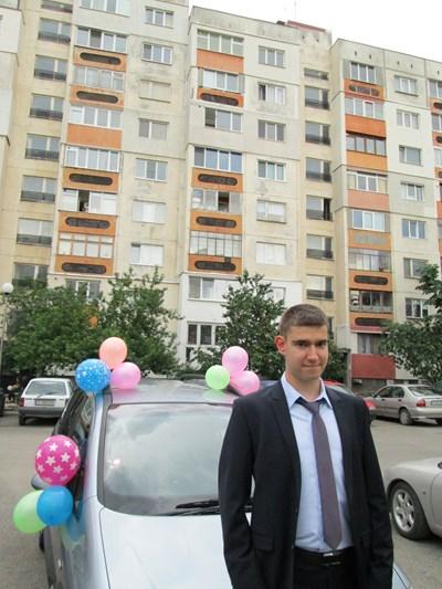 Ивелин Узунов на абитуриентския си бал