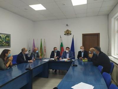 Министър Ангелов в Търговище СНИМКИ: Министерство на здравеопазването