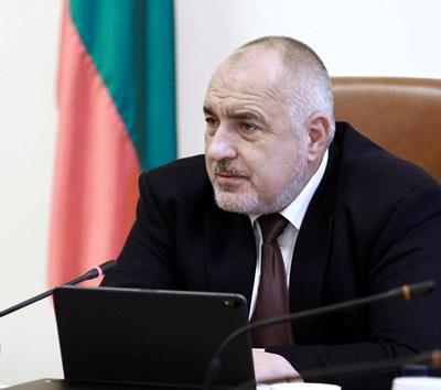 Премиерът Бойко Борисов СНИМКА: МС