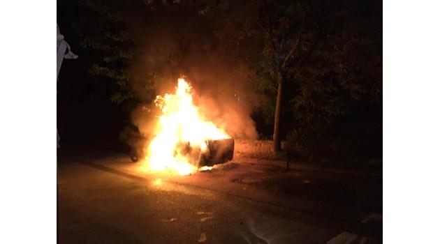 Запалиха колата на учителя, спасил дете при катастрофа в Разлог