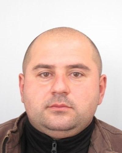 Стоян Зайков-Чане, който вече четвърти ден е издирван за убийството на бившата му приятелка Милена Шишкова  СНИМКА: МВР