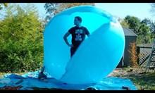 Може ли човек да влезе в балон?