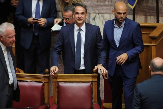 11463f60dd0 Гръцкият парламент е съставен от 6 партии. Дясноцентристката Нова  демокрация има абсолютно мнозинство от 158 народни представители.