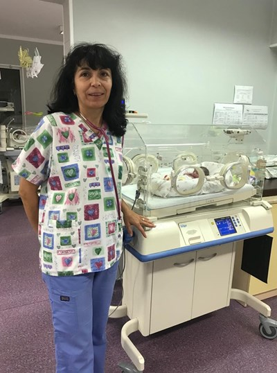 Д-р Кина Николова, началник на отделението по неонатология