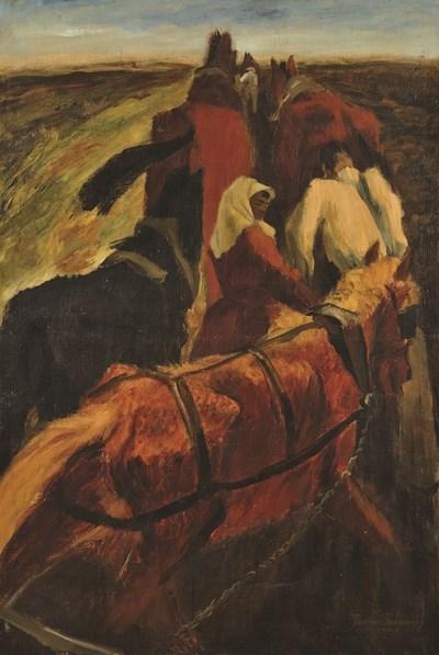 Картина на Златю Бояджиев от колекцията на Боян Радев