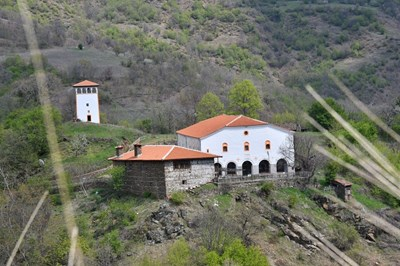 """Манастирът """"Св. Георги""""."""
