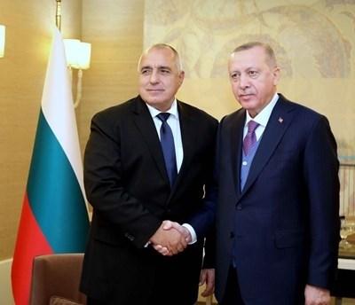 Бойко Борисов и Реджеп Тайип Ердоган СНИМКА: Фейсбук/Архив