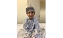 Отправете една молитва за Дани, който в момента лежи на операционната маса, за да му оперират двете колене и ръката