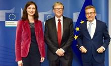Мария Габриел договори сътрудничество с Бил Гейтс