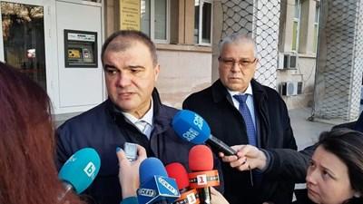 Окръжният прокурор Красимир Конов и директорът на ОДП Даниел Пашов СНИМКИ: Авторката