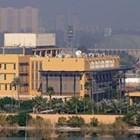 Изглед към американското посолство в Зелената зона в Багдад, Ирак СНИМКА: Ройтерс