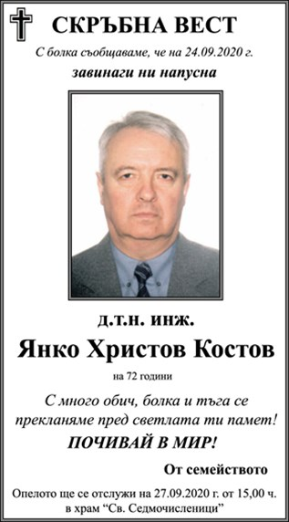 Янко Костов