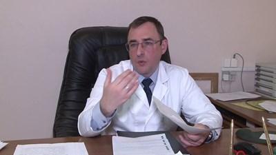 На снимката: Д-р Михаил Горанов, уролог, андролог
