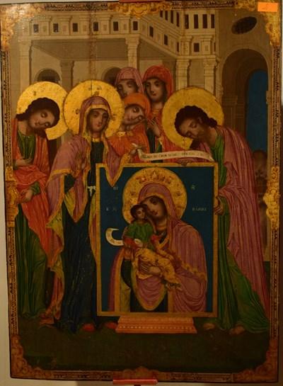 Една от иконите от художествения фонд на Музея на Възраждането в Елена