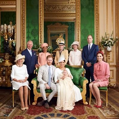 Кръщенето на най-малкия член на кралското семейство - Арчи, се състоя в събота Снимка: Ройтерс