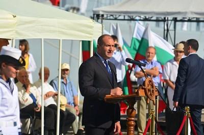 Президентът Румен Радев СНИМКИ: АВТОРКАТА